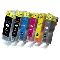 Canon PGI-520 / CLI-521 set van ZES inktcartridges (huismerk met chip)