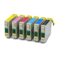 Epson T0807 set inktcartridges (huismerk)
