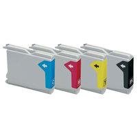 Brother LC-970 / LC-1000 set inktcartridges (huismerk)