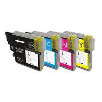 Brother LC-985 set inktcartridges (huismerk)