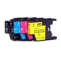 Brother LC-1220 / LC-1240 set inktcartridges (huismerk)