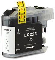 Brother LC-221BK / LC-223BK inktcartridge zwart (huismerk met chip)