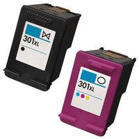 HP 301XL set inktcartridges (huismerk)
