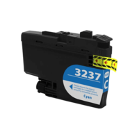 Brother LC-3237C inktcartridge cyaan (huismerk)