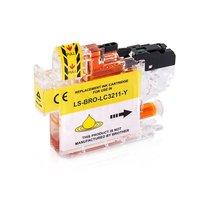 Brother LC-3211Y inktcartridge geel (huismerk)
