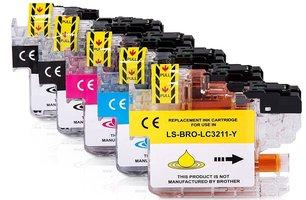 Brother LC-3211 set inktcartridges (huismerk)