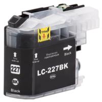 Brother LC-227BK XL inktcartridge zwart (huismerk met chip)
