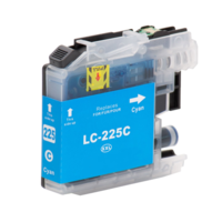 Brother LC-225XL C inktcartridge cyaan (huismerk met chip)