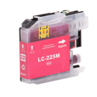 Brother LC-225XL M inktcartridge magenta (huismerk met chip)