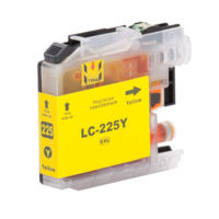 Brother LC-225XL Y inktcartridge geel (huismerk met chip)