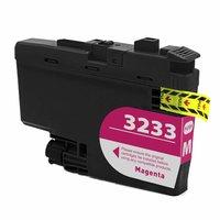 Brother LC-3233M inktcartridge magenta (huismerk)