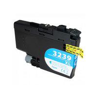 Brother LC-3239XL C inktcartridge cyaan (huismerk)