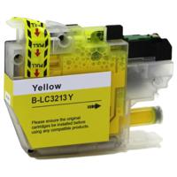 Brother LC-3213Y inktcartridge geel (huismerk)