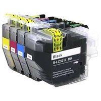 Brother LC-3217 set inktcartridges (huismerk)
