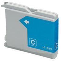 Brother LC-970C / LC-1000C inktcartridge cyaan (huismerk)
