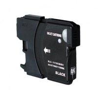Brother LC-980BK / LC-1100BK inktcartridge zwart (huismerk)