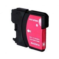Brother LC-980M / LC-1100M inktcartridge magenta (huismerk)