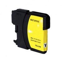 Brother LC-980Y / LC-1100Y inktcartridge geel (huismerk)