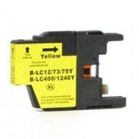Brother LC-1220Y / LC-1240Y inktcartridge geel (huismerk)