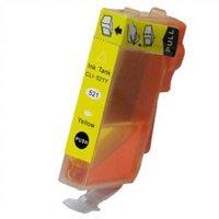 Canon CLI-521 Y inktcartridge geel (huismerk met chip)