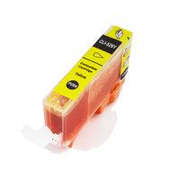 Canon CLI-526 Y inktcartridge geel (huismerk met chip)
