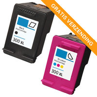 HP 300XL set inktcartridges (huismerk)