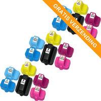 3 sets HP 363 inktcartridges (huismerk)