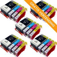 5 sets HP 920XL inktcartridges (huismerk)