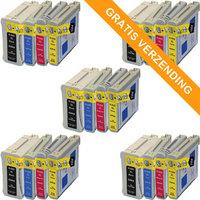 5 sets HP 940XL inktcartridges (huismerk)