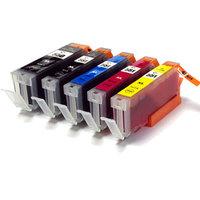 Canon PGI-550XL / CLI-551XL set van VIJF inktcartridges (huismerk)