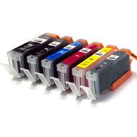 Canon PGI-550XL / CLI-551XL set van ZES inktcartridges (huismerk)