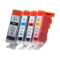 Canon PGI-5 / CLI-8 set van VIER inktcartridges (huismerk met chip)