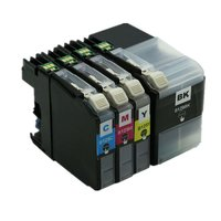 Brother LC-129XL / LC-125XL set inktcartridges (huismerk met chip)
