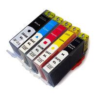 HP 364XL set van VIJF inktcartridges (huismerk)