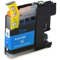 Brother LC-125XL C inktcartridge cyaan hoge capaciteit (huismerk met chip)