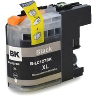 Brother LC-127XL BK inktcartridge zwart hoge capaciteit (huismerk met chip)