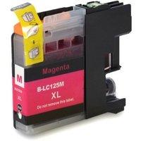 Brother LC-125XL M inktcartridge magenta hoge capaciteit (huismerk met chip)