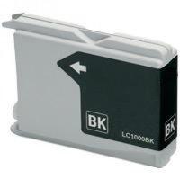 Brother LC-970BK / LC-1000BK inktcartridge zwart (huismerk)