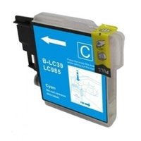 Brother LC-985C inktcartridge cyaan (huismerk)