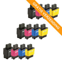 3 sets Brother LC-900 inktcartridges (huismerk)