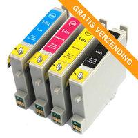 Epson T0615 set inktcartridges (huismerk)