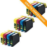 3 sets Epson T1295 inktcartridges (huismerk)