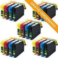 5 sets Epson T1295 inktcartridges (huismerk)