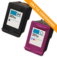 HP 301XL set inktcartridges (huismerk)