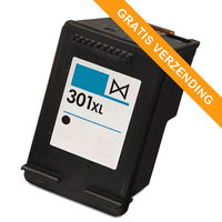 HP 301XL BK inktcartridge zwart (huismerk)