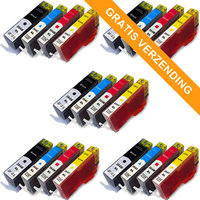 5 sets HP 364XL set van VIJF inktcartridges (huismerk)
