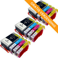 3 sets HP 920XL inktcartridges (huismerk)