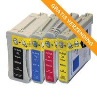 HP 940XL set inktcartridges (huismerk)