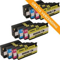 3 sets HP 950XL / HP 951XL inktcartridges (huismerk)