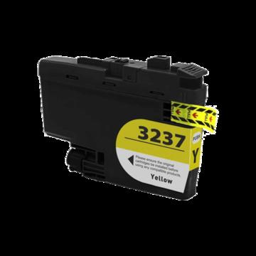 Brother LC-3237Y inktcartridge geel (huismerk)